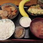 木むら - 里芋煮定食 750円