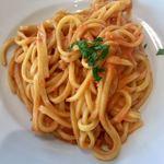 カフェ テルツィーナ - 手長エビのクリームソース