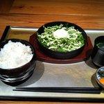 7608018 - 鶏の生姜焼きランチ(1,000円)