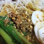 麺AKIBA - 挽き肉・ナッツ