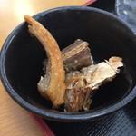 市場食堂 - 小鉢は魚の南蛮