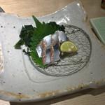 和食さと - 切なすぎる秋刀魚刺し