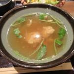 佐賀県三瀬村 ふもと赤鶏 - 鶏スープ