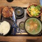 佐賀県三瀬村 ふもと赤鶏 - 鶏もも炭火焼定食