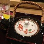 鮨 なが井 - 土瓶蒸し
