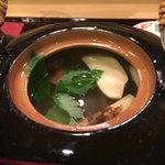 鮨 なが井 - 松茸いっぱい