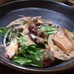 蟹御殿 - ・夕飯 ◎旬鮮サラダ
