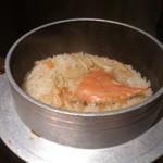 蟹御殿 - ・夕飯 ◎蟹釜めし