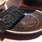 蟹御殿 - ・朝飯 ◎焼き海苔