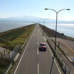 蟹御殿 - その他写真:・諫早湾の水門道路、これ本当に必要?