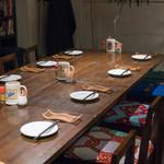 久遠の空 - 2017.11 10人用のテーブル席