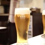 シェ シロ - ☆生ビール キリン一番搾り 700円