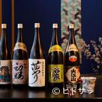 味楽 ゆめり - 奥能登5蔵の地酒が揃い、すべて普通酒を提供