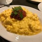 スペインバル ピー - 秋鮭とホーレンソウのトルティージャ!