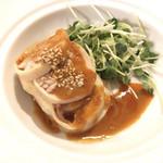 遙華 - 蒸し鶏のサラダ