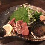 焼鶏だんな - 肝のお造り(580円)