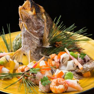 """日本料理の""""旬""""の本質を体現した、至極のおもてなしがここに。"""
