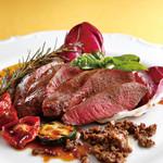 スパーダ - 本巣産鹿肉のロースト マルサラワインソース