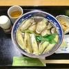 照庵そば処 - 料理写真:牡蠣南蛮の温かいおそば1,700円(税込)