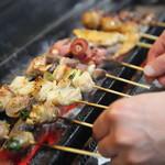 楽菜ダイニング喰堂 - 料理写真:備長炭炭焼き