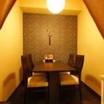 食楽 しお彩 - テーブル個室