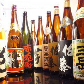特選地酒や本格焼酎を取り揃え!プレミア日本酒も入荷‼️
