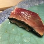 第三春美鮨 - 戻り鰹 6kg 背 備長炭炙り 巻き網漁 長崎県佐世保