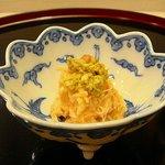 割烹 たきぐち - カニの和え物