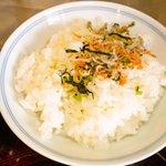 鎌倉御代川 - 御飯