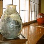 鎌倉御代川 - 席横の装飾