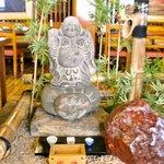 鎌倉御代川 - 一階席の装飾