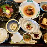 た奈か - 料理写真:ミニ懐石風日替わりランチ 1400円