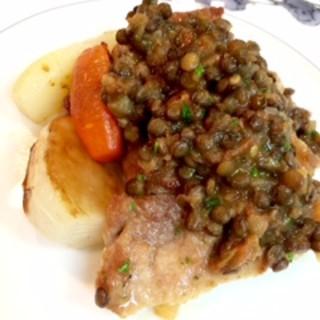 その日届いた新鮮な野菜、魚、肉を使ったその日だけののお料理を