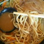 みちすけ - 麺アップ