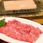 居魚菜家 のものも - 阿波牛岩塩プレート焼