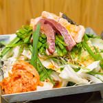 居魚菜家 のものも - 牛ホルモン チリトリ鍋