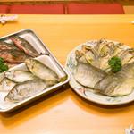 居魚菜家 のものも - アイノバリ(アイゴ)の干物