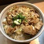 麺匠 呉屋 - 「豚そぼろご飯」(260円)