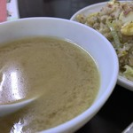 中華大千居 - セットのスープ