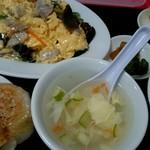 中国家庭料理大連 - ランチ『豚肉・卵と木耳炒め』¥780-