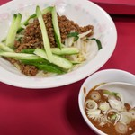 中国家庭料理 神洲之華 - 料理写真:「汁無し山椒風担担麺」(税込950円)