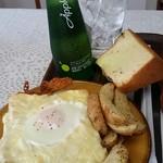 プチカナール - 料理写真:クロックマダム