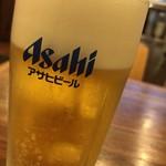 龍王 - 生ビール