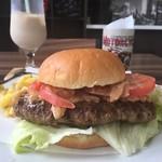 ライダースカフェ ストーリー - ハンバーガー 500円だ。おのれ、デストロン