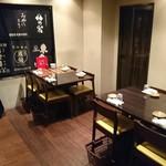庫裏 - テーブル