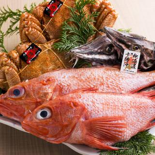 """北海道より、毎日届く""""天然魚介"""""""