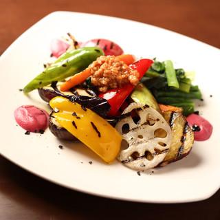 茨城、くわはら農園の有機野菜をたっぷりお召し上がりください!