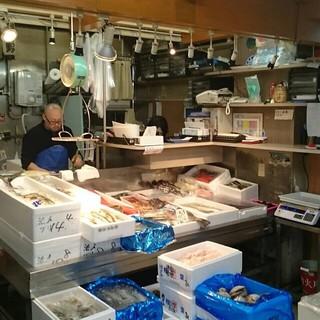 地元北海道の魚屋と提携!