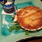 和酒と旬菜なごみ料理 日月 - 具だくさんの海の幸コロッケ