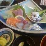 平野鮮魚 - 日替わり刺身盛り
